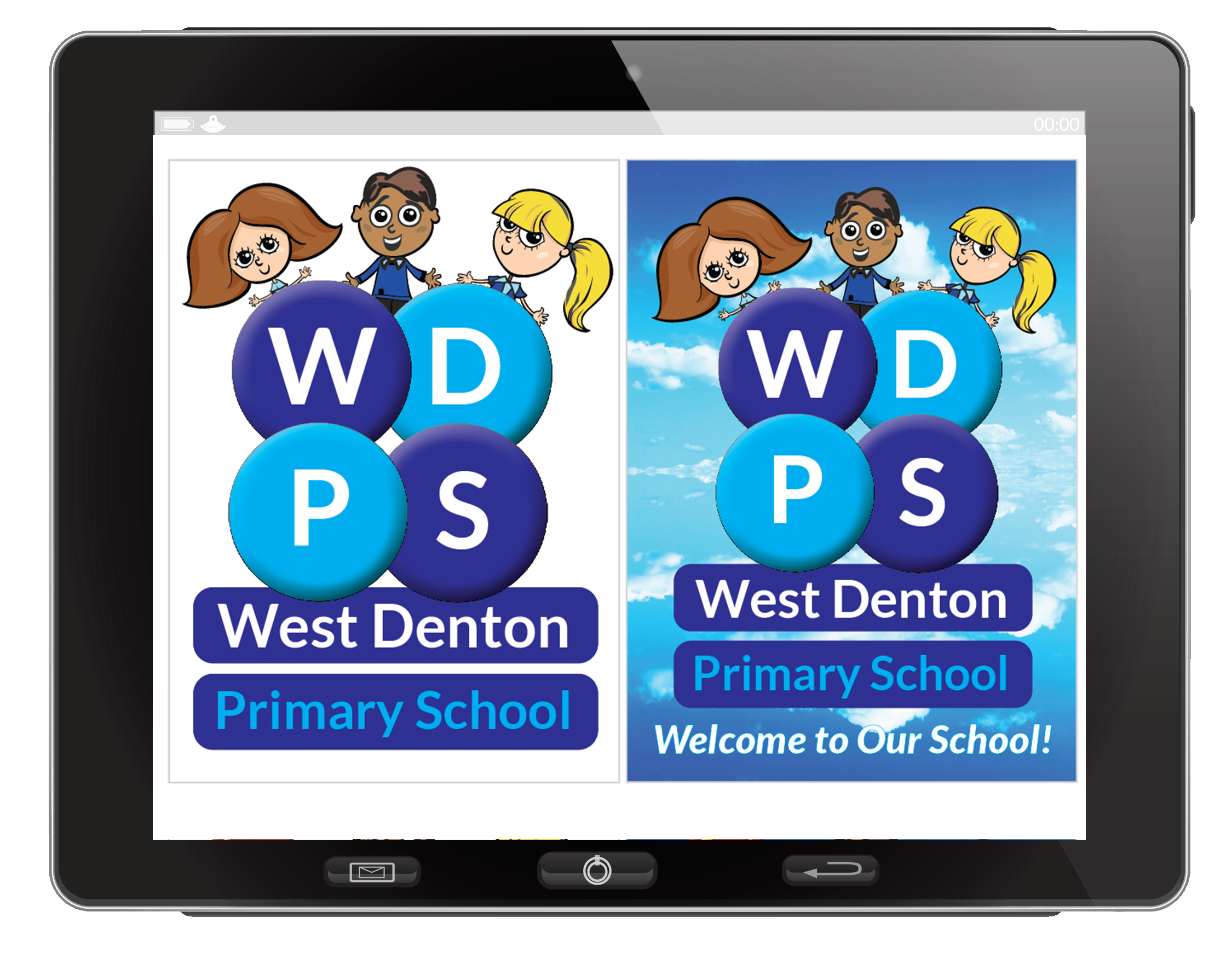 WDPS iPad with New Logo 2017