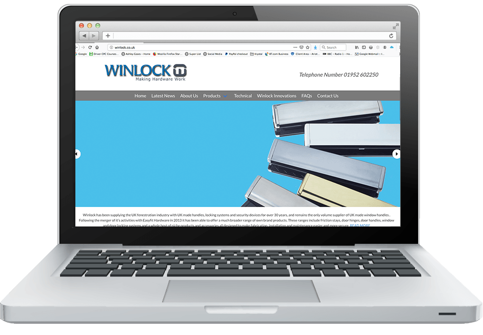 Winlock new website