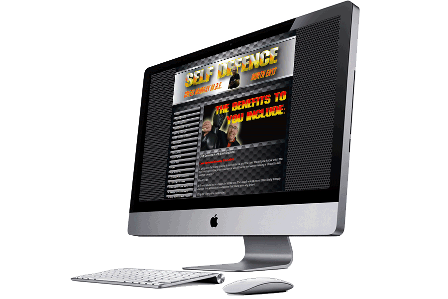 Self Defence North East 27 inch iMac