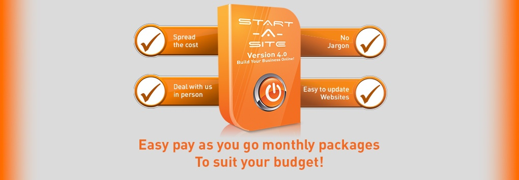 StartASite PAYG Packages